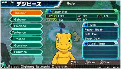 Digimon Adventure PSP English Patch